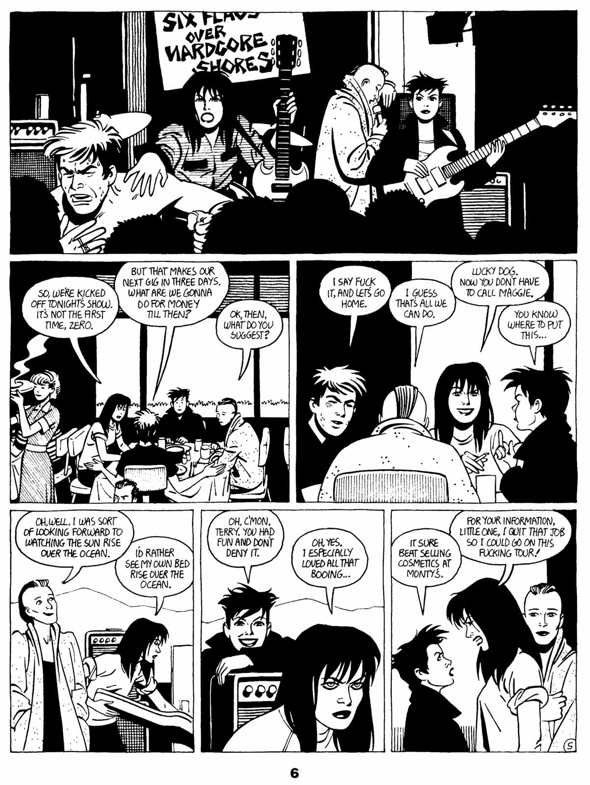 Love and Rockets (1982) Issue #21 #20 - English 8