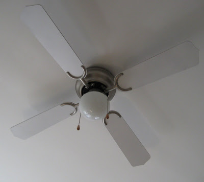 Good I Spray Painted My Ceiling Fan Blades White This Weekend And Itu0027s Like I  Have A Whole New Fixture.