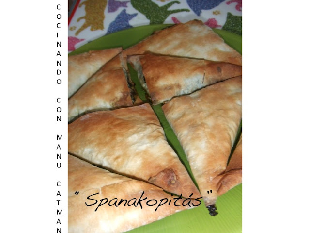 receta de spanakopitas