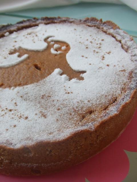 receta de pastel de calabaza americano