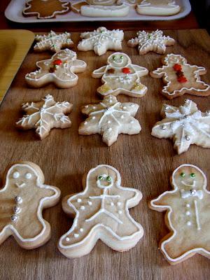 cómo delinear galletas