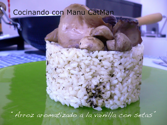 cómo aromatizar arroces con thermomix