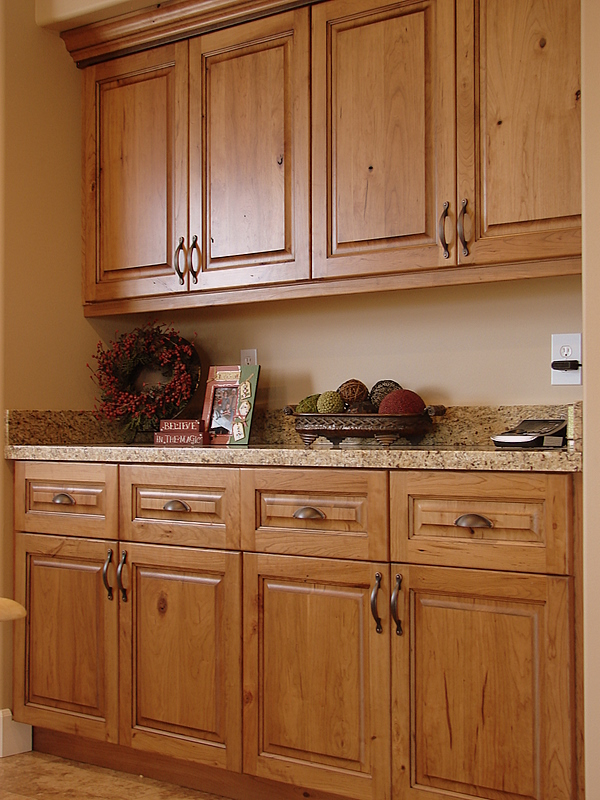 Lec Cabinets Rustic Cherry Cabinets