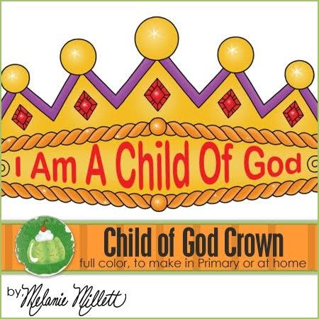 Sharing Time I Am a Child of God  Friend Feb 2005  friend