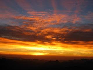 Sunrise on Mount Sinai