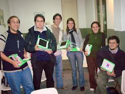 Participando  de la Capacitacion En montevideo