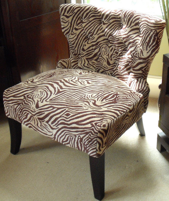 Animal Print Accent Chair In Stock