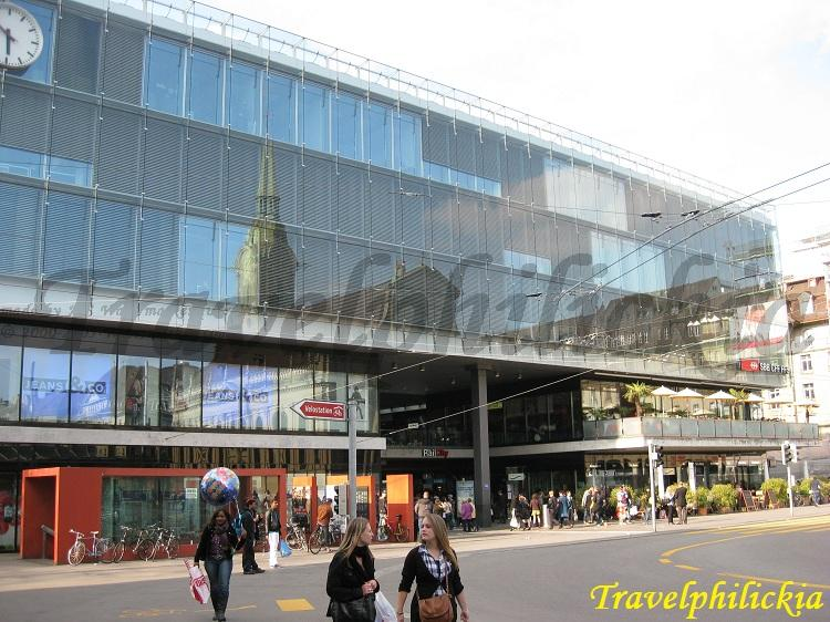 Travel to relax eat and shop Bern