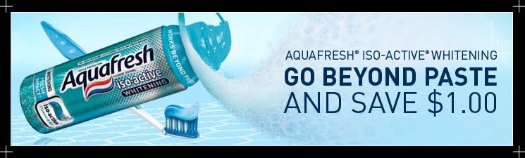 Aquafresh white trays coupon code