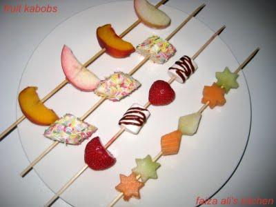 [faiza+fruit+kababs]