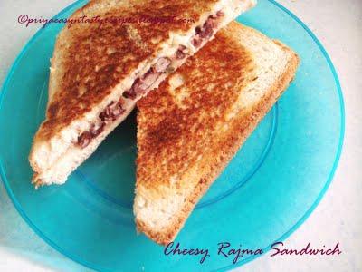 [Priya+Suresh+Cheesy+Rajma+Sandwich]