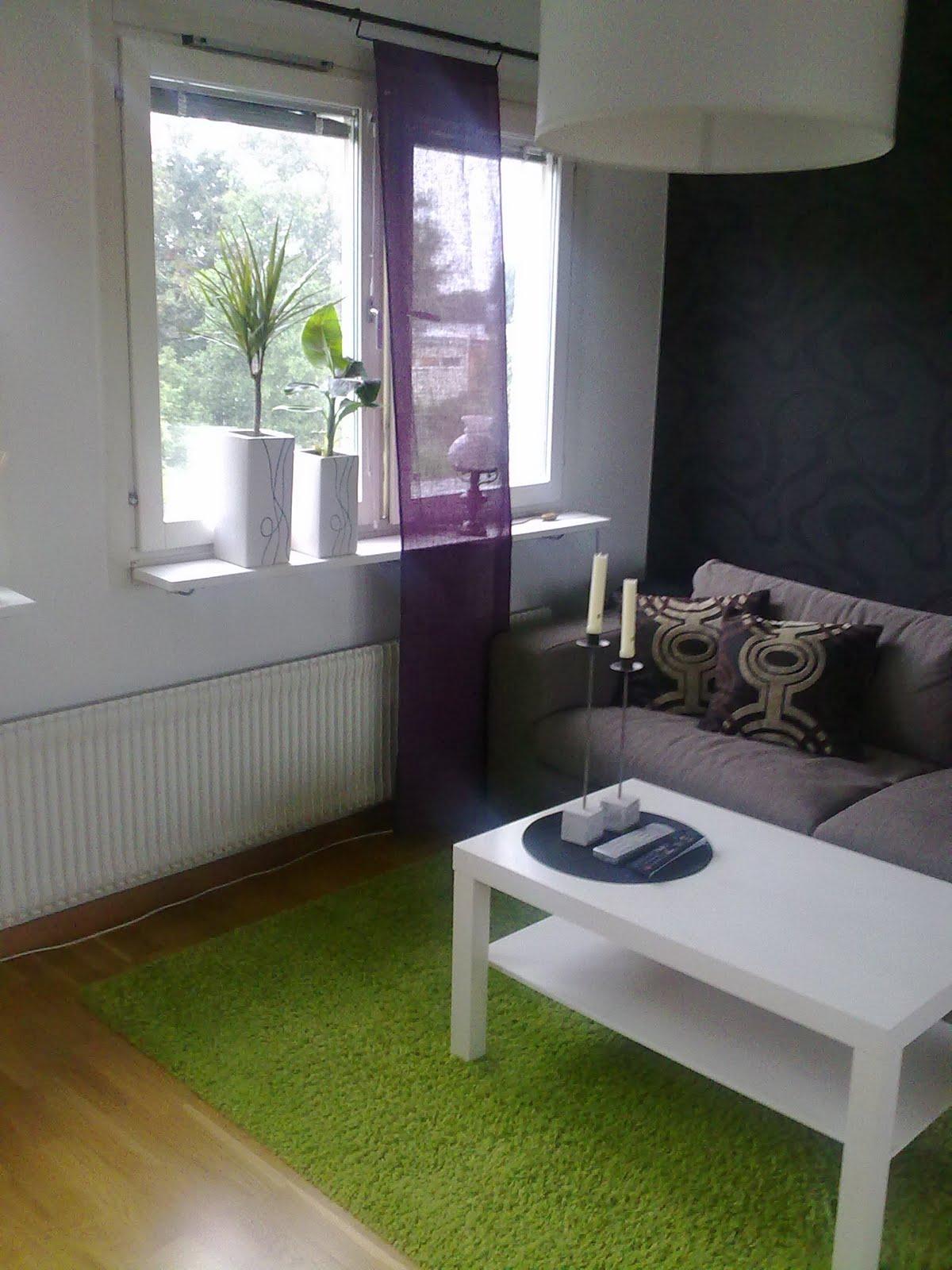 Smycka ditt hem: Färg test vardagsrum