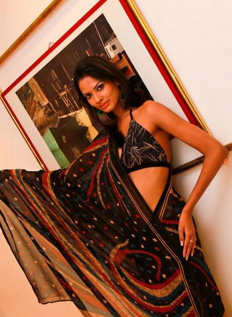 Srilanka Saree Bikini Style