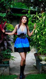 Pushpika Sandamali miss srilanka