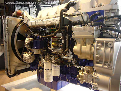 volvos d13 engine latest automobile engines from volvos showed in ocean race village in cochin kerala india