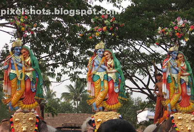 decorated-temple-elephants,temple-festival-kerala,elephants,Hindu-lord-krishna,Radha-krishna,pooram-ezhunallath,thrishur-temple-festivals