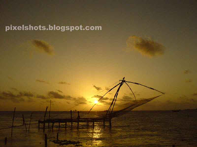 cochin sunsets,kerala-beach-sunset,Fort Cochin-sunset,kerala-sceneries,kerala landscape photos,cochin photography,kerala cellphone photography,pixelshots-photos