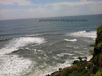 sea photographed from mountains in varkala,kerala beaches and sea photos from beach mountain cliffs