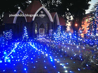 christmas church illumination Cochin kerala,christmas celebration photos 2010