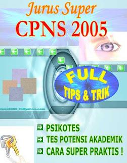 soal cpns 2005