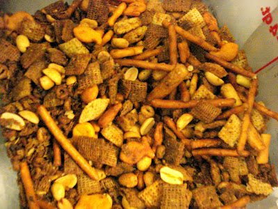 Old Fashioned Chex Party Mix Recipe