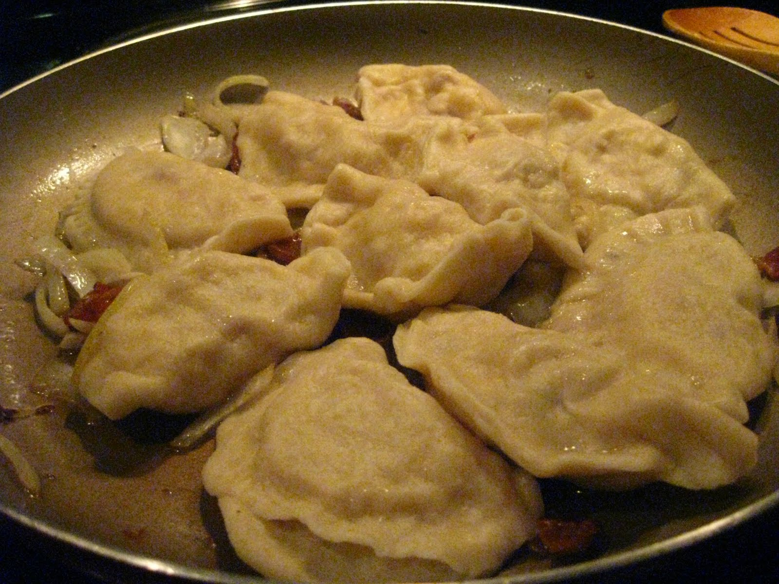 how to cook perogies in water