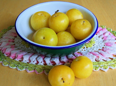 local yellow plums yes yellow these are the sweetest most