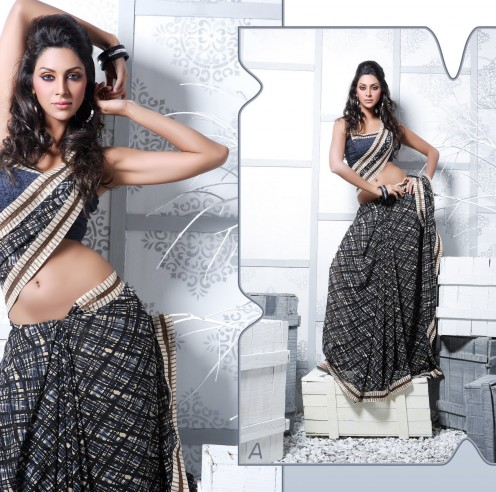 Low Hip Saree