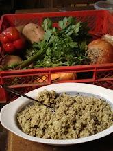 Ingredientes para la cazuela y el soplillo