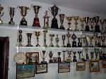 Santanense sala de troféus