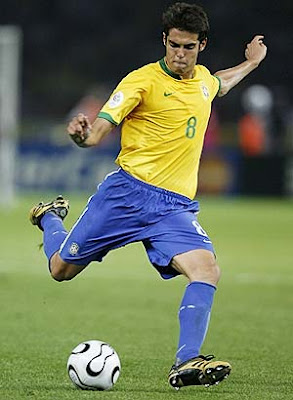 Kaka Real Madrid y Brasil - Figuras del Mundial Sudafrica 2010