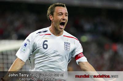 John Terry Vanessa Perroncel - John Terry deja de ser el capitan de Inglaterra