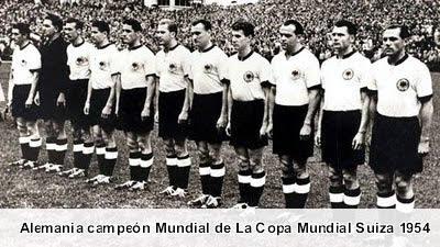 La Copa Mundial Suiza 1954 - Historia de los Mundiales