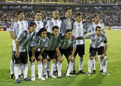 Argentina no es favorito en Sudafrica