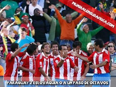 Paraguay 2 Eslovaquia 0