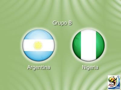 Argentina vs Nigeria en Vivo