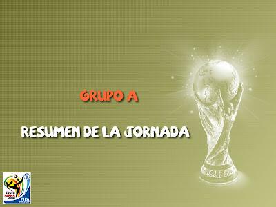 Resumen primera jornada Mundial 2010
