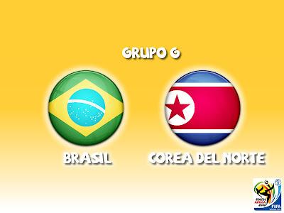 Brasil vs Corea del Norte en vivo