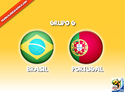 Partido Brasil vs Portugal Grupo G