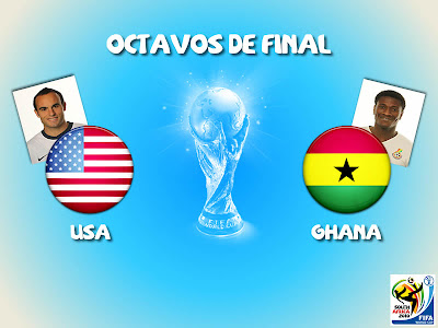 Partido Usa vs Ghana Octavos de Final