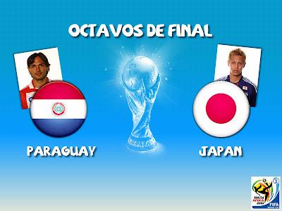 Partido Paraguay vs Japon