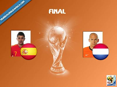 Final del Mundial España vs Holanda