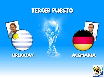 Partido Uruguay vs Alemania Tercer Puesto