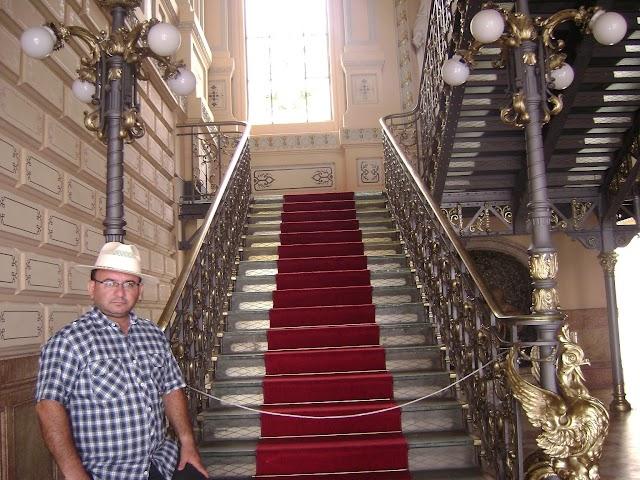 Dorjival Silva visita o Palácio Rio Branco em Salvador