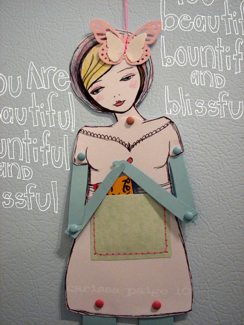 IMG 4564 Vintage Glamour Girl Paper Dolls GIVEAWAY