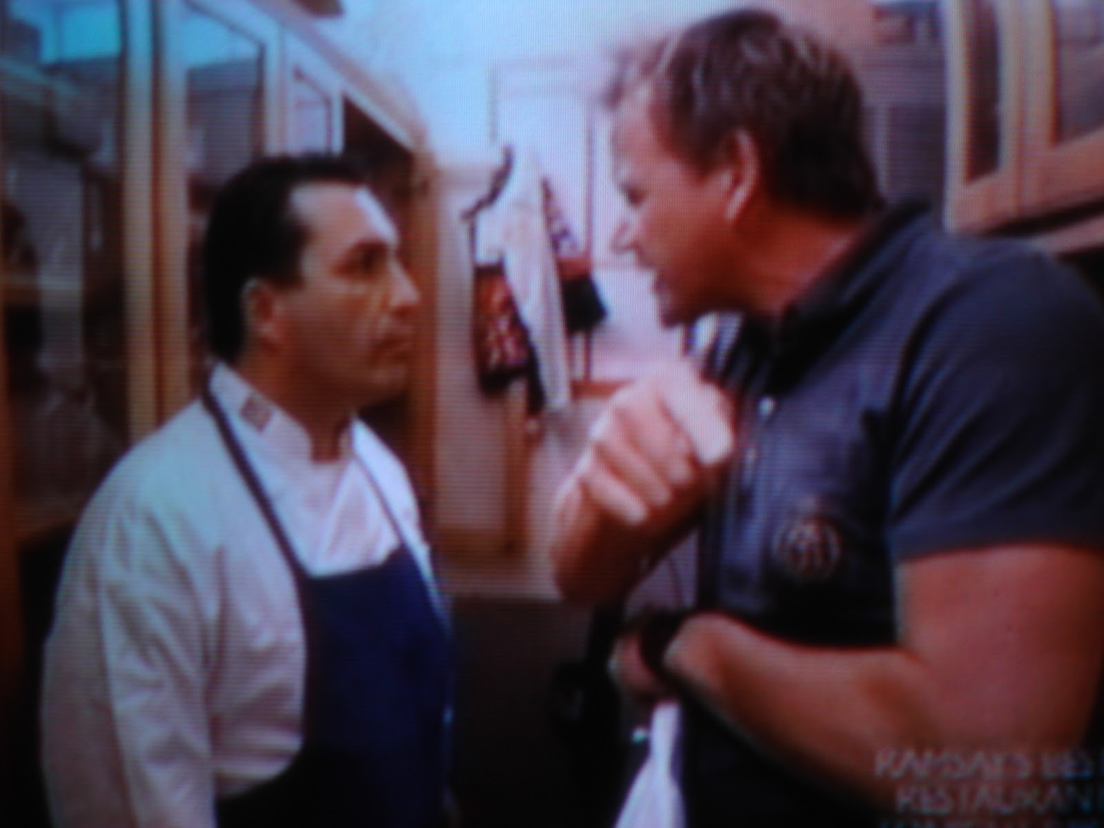 Gordon ramsay a new yorker with a brit accent The secret garden kitchen nightmares