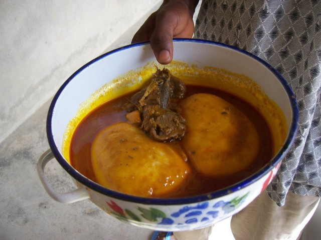 Multicultural recipes democratic republic of congo fufu for Authentic african cuisine from ghana