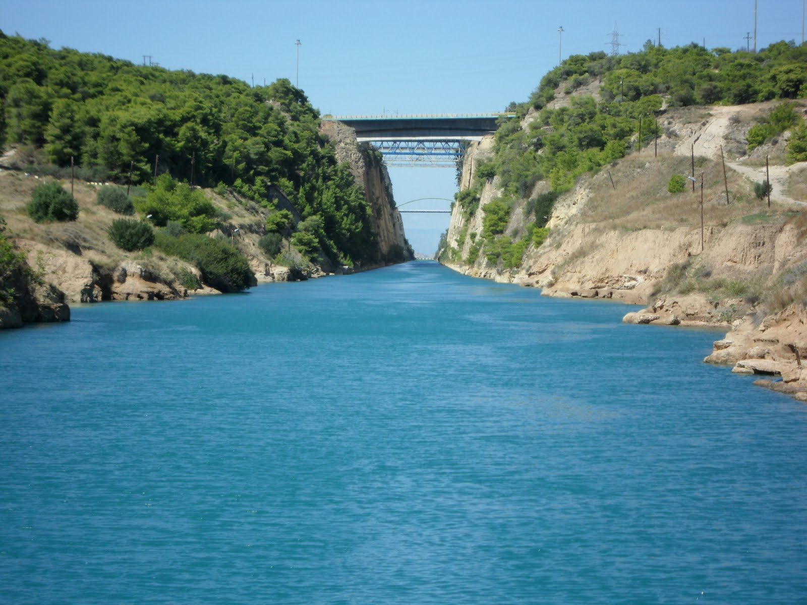 I Love To Tell The Story: Day Six - Corinth, Corinth Canal ...