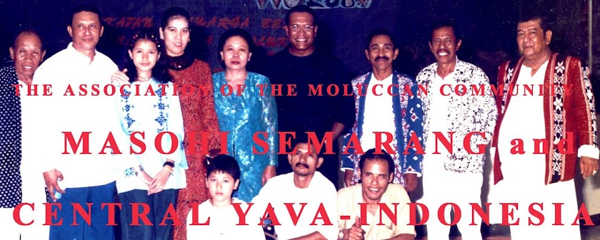 THE ASSOCIATION OF THE MOLUCCAN COMMUNITY  (MASOHI) SEMARANG  AND CENTRAL JAVA