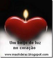 Selo Um beijo de luz no coração